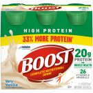 Boost High Protein Complete Nutritional Drink, Variety Pack, 8 fl oz Bottle, 24 Pack (Packaging May Vary)