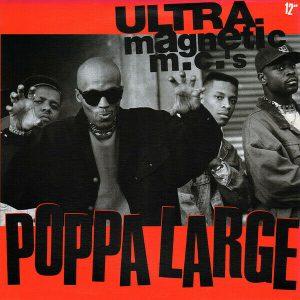 "Vinyl LP Ultramagnetic MC's – Poppa Large 12"" G+"